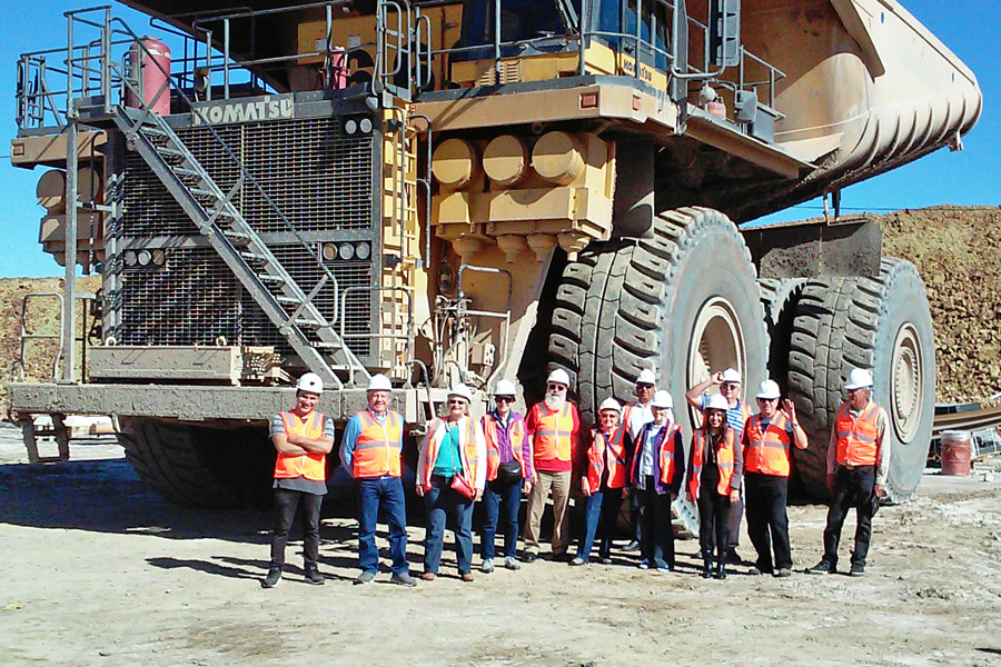Ambos Tours - the mine in Cananea, Sonora, Mexico