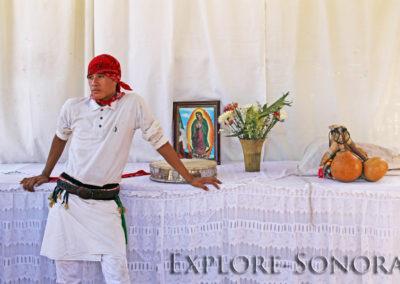 Pascola dancer in El Júpare, Sonora, Mexico