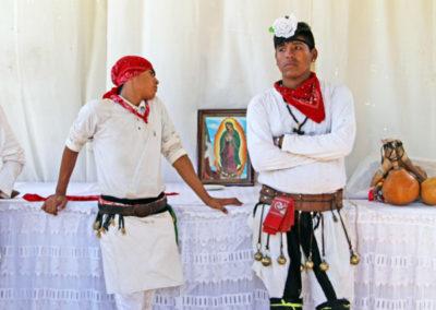 Pascola dancers in El Júpare, Sonora, Mexico