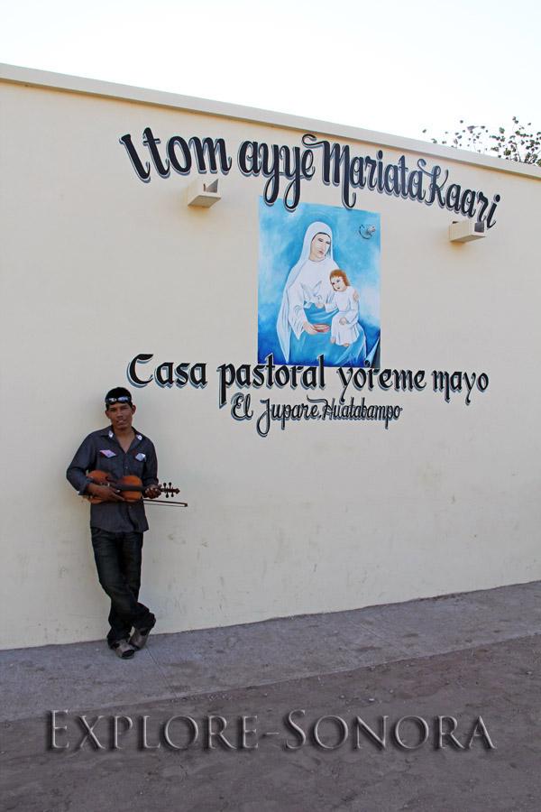 Casa Pastoral Itom Ayye María – El Júpare, Sonora