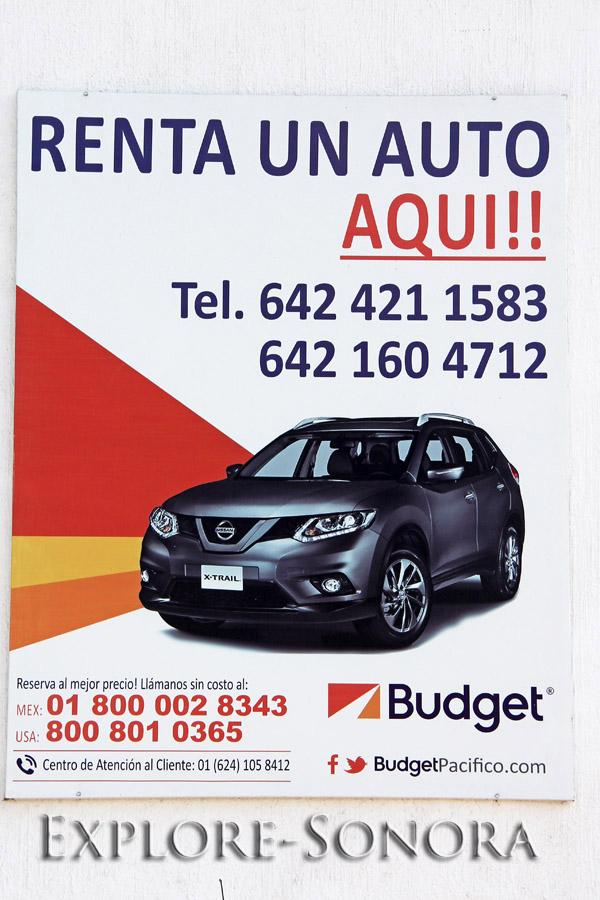 Budget Alquiler de Carros en Navojoa, Sonora, Mexico
