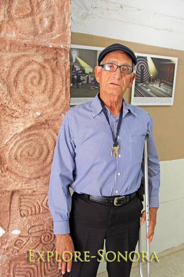 Profesor Lombardo Rios - Museo Didáctico Hu-Tezzo - Navojoa, Sonora, Mexico