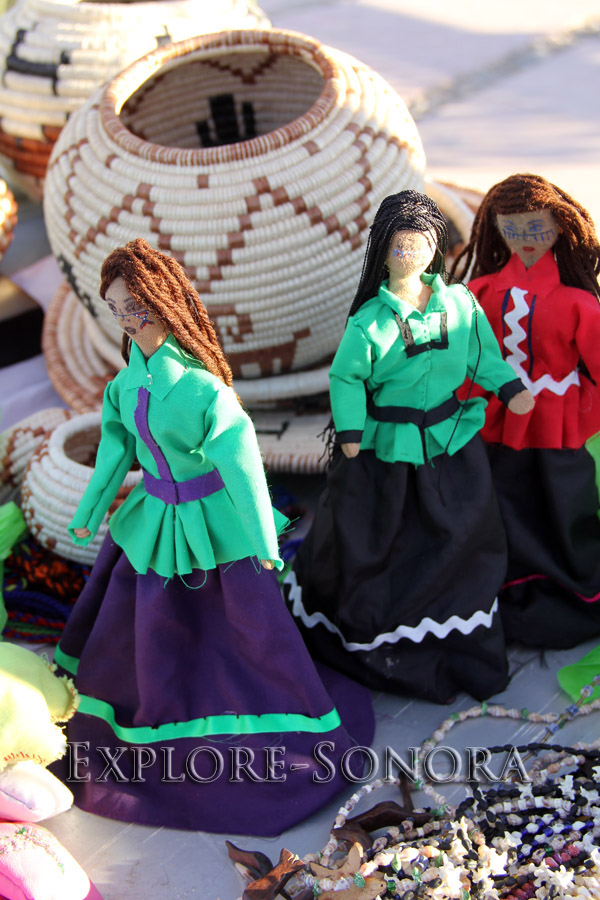 indigenous peoples of sonora, mexico - seri dolls