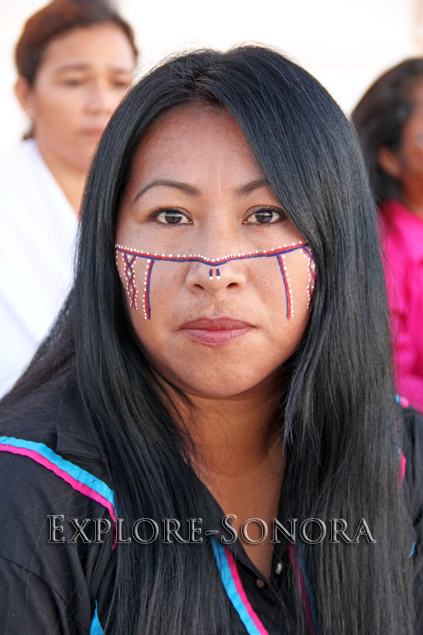indigenous peoples of sonora, mexico - seri woman