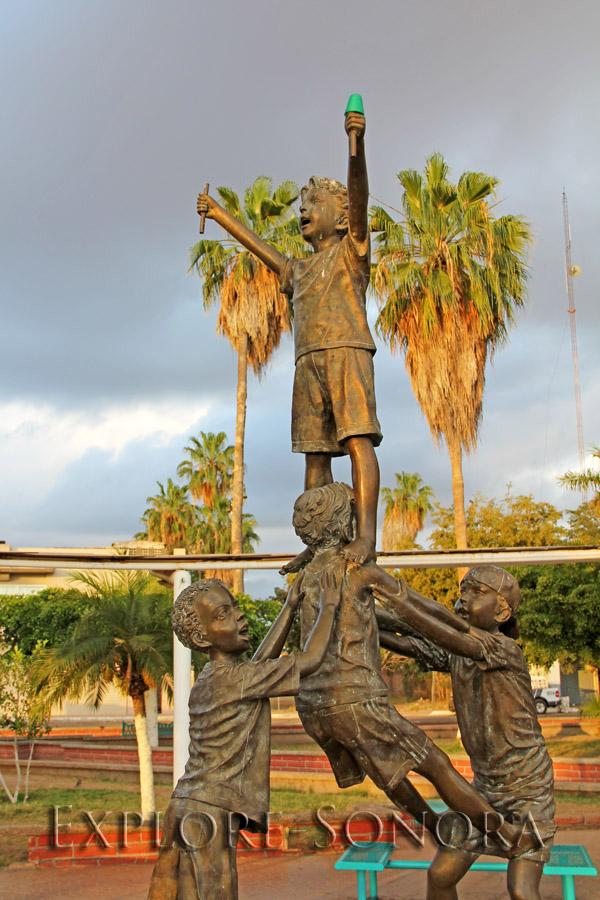 Plaza Juarez - Huatabampo, Sonora, Mexico