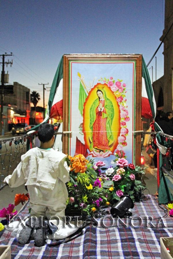 Peregrination for the Virgin of Guadalupe - Santa Ana, Sonora
