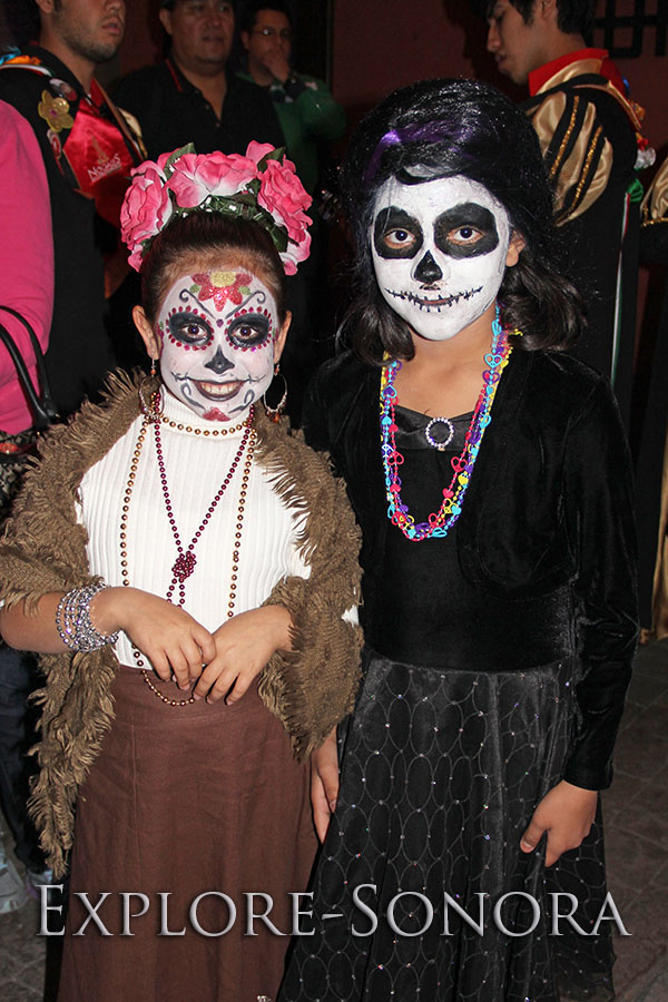 Day of the Dead - Dia de Muertos - procession in Nogales, Sonora, Mexico