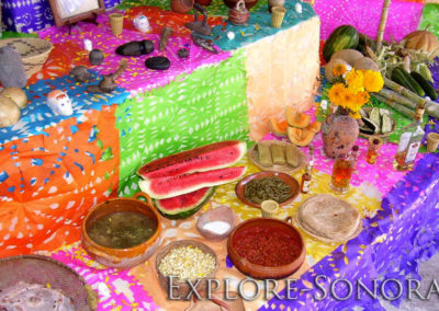 Dia de Muertos - altars and altar elements
