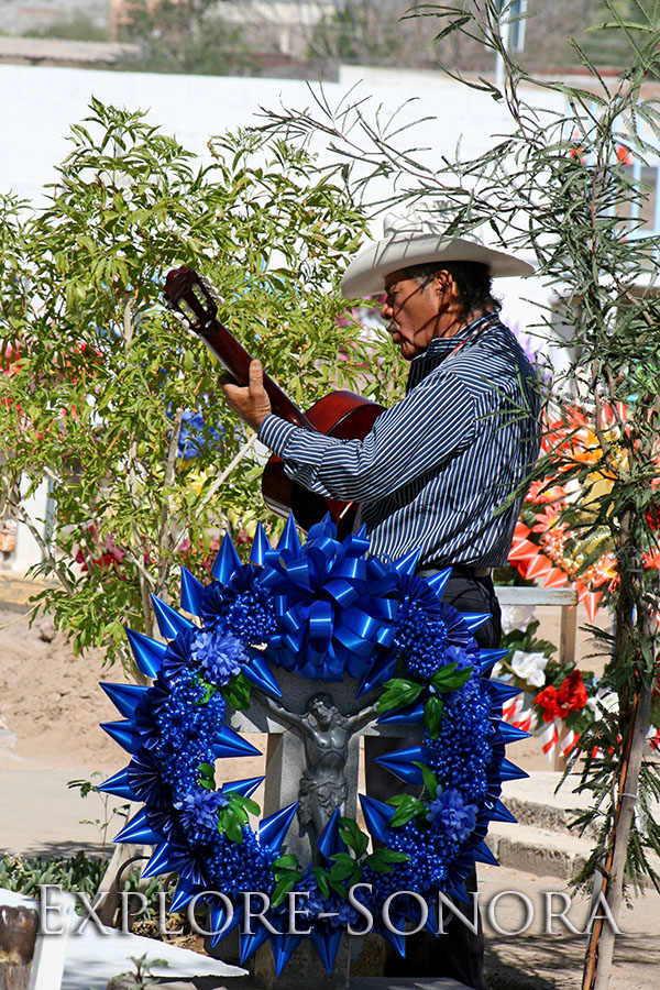 Day of the Dead - Dia de Muertos - in Caborca, Sonora, Mexico