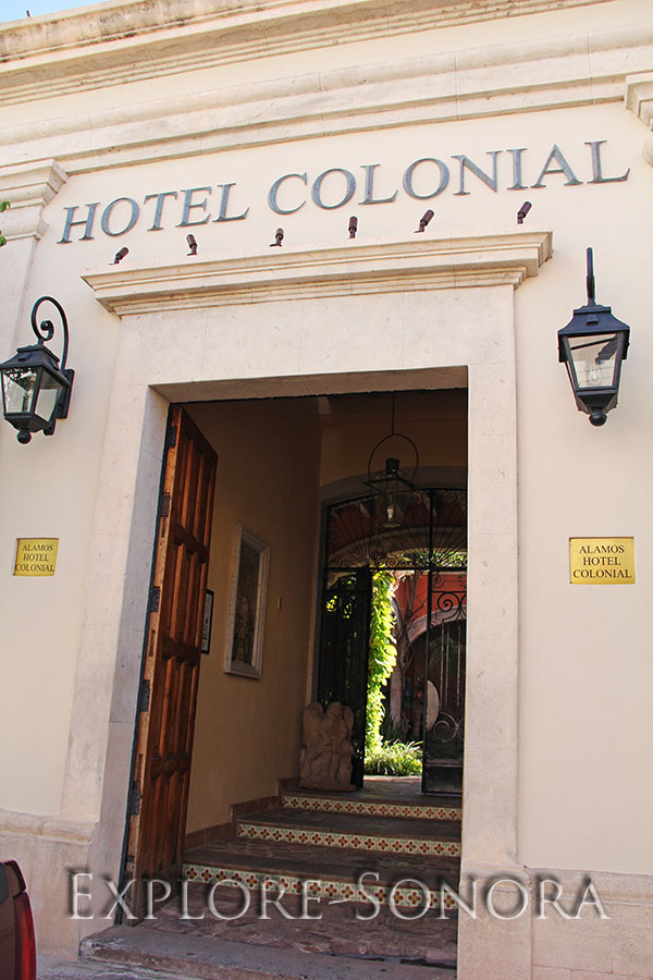 Alamos Hotel Colonial in Alamos, Sonora, Mexico