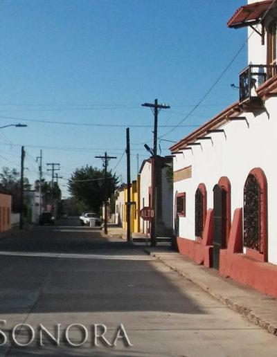 The Rio Sonora pueblo of Banamichi, Sonora, Mexico