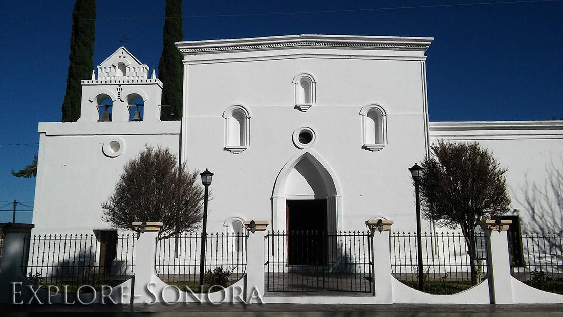 Misión de San Lorenzo de Güepaca in Huépac, Sonora, Mexico