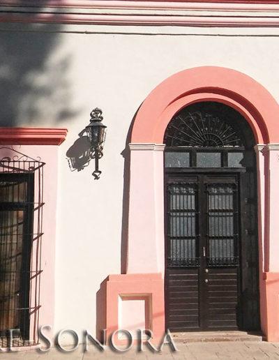 The historic Rio Sonora city of Ures, Sonora, Mexico