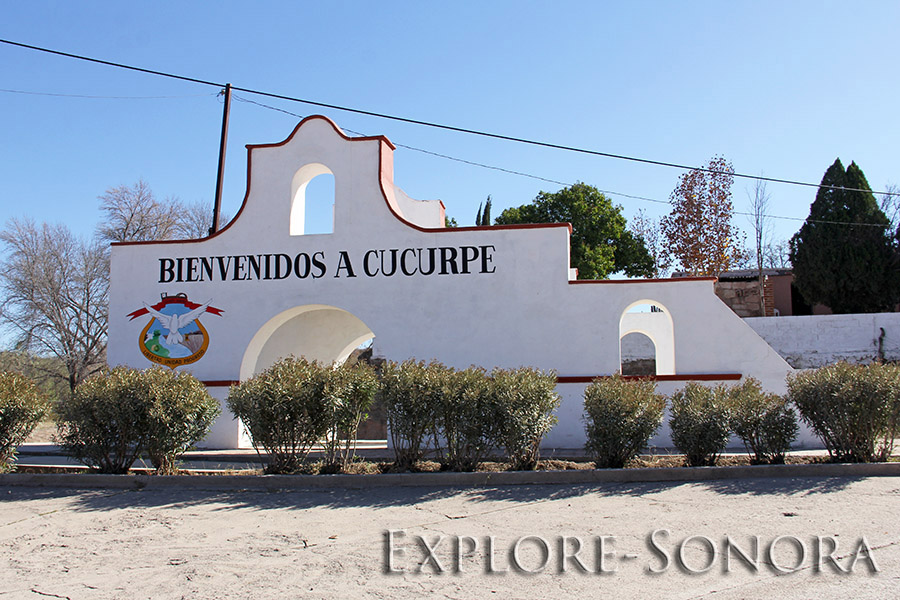Welcome to Cucurpe, Sonora, Mexico