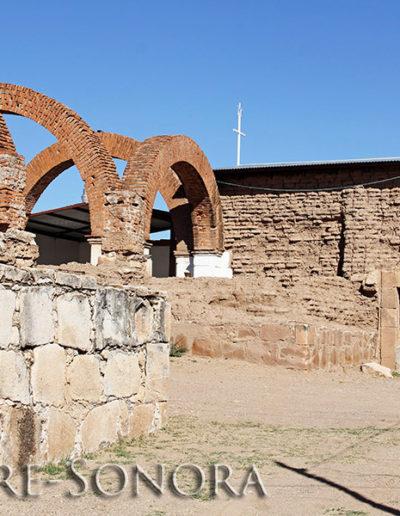 Ruins of the Mission Los Santos Reyes in Cucurpe, Sonora, Mexico