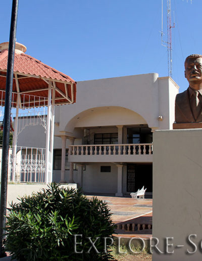The municipal building of the Northern Sonora town of Cucurpe, Sonora, Mexico